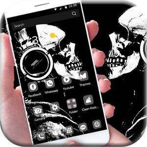 دانلود Mr Skeleton Theme skull v1.1.5 – تم ترسناک اسکلت اندروید