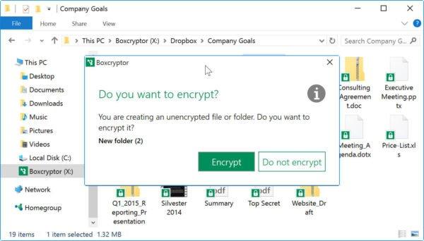 دانلود BoxCryptor 2.38.1080 - نرم افزار رمز گذاری