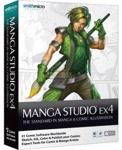 نرم افزار طراحی و ساخت کمیک بوک Manga Studio EX v5.0