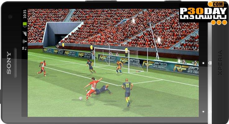 دانلود بازی فوتبال آندروید PES 2012 Android بازی فوتبال آندروید