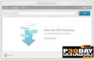 نرم افزار دانلود ویدیوهای آنلاین Freemake Video Downloader 3.5 Portable