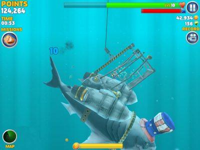 دانلود Hungry Shark Evolution 4.7.0 - بازی کوسه شکارچی اندروید