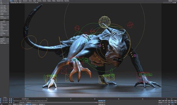 دانلود NewTek LightWave 3D 2020.0.2 - ساخت انیمیشن و مدل سازی
