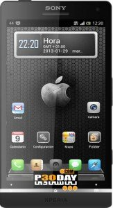 iPhone5 Next Launcher Theme