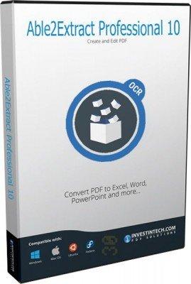 دانلود Able2Extract Professional v14.0.7.0 - تبدیل سریع اسناد مختلف