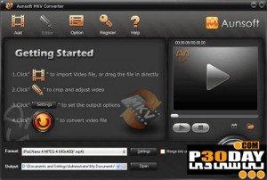 نرم افزار تبدیل ویدیوها به Mkv با Aunsoft MKV Converter v2.0
