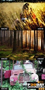 Cinema Effects Actions Pack for Photoshop