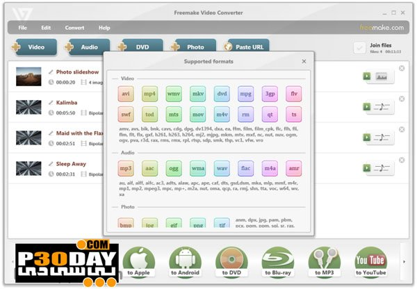 Freemake Video Converter V4.1.10.293 - Various Video Converter