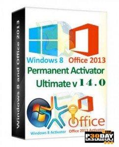 دانلود کرک جدید ویندوز 8 با Permanent Activator Ultimate 14.0