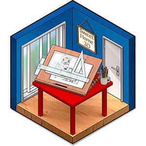 دانلود Sweet Home 3D 6.4 – نرم افزار طراحی دکوراسیون داخلی