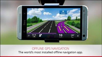 مسیریابی شهر های ایران در موبایل Sygic Iran: GPS Navigation