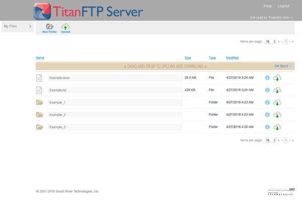 دانلود Titan FTP Server Enterprise 2019 Build 3595 - نرم افزار مدیریت FTP