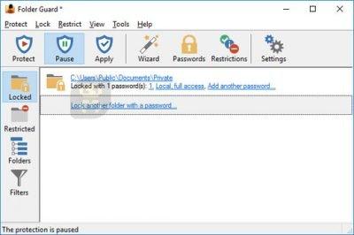 دانلود Folder Guard 19.9 - قفل گذاری کامل پوشه های کامپیوتر