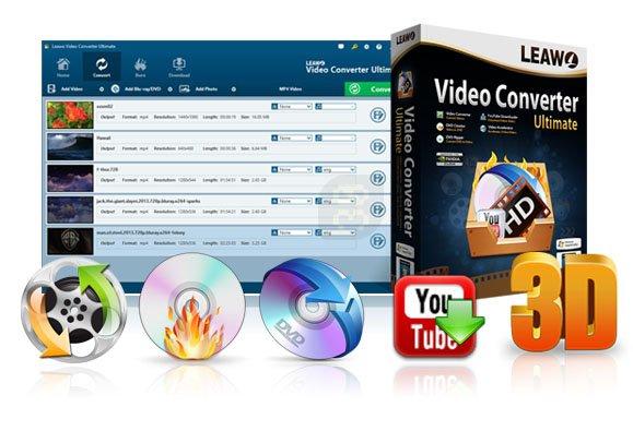 دانلود Leawo Video Converter Ultimate 8.2.0.0 - تبدیل کننده کامل فیلم ها