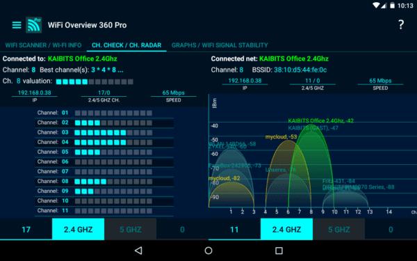 دانلود WiFi Overview 360 Pro v4.60.04 - نرم افزار مدیریت شبکه Wifi اندروید