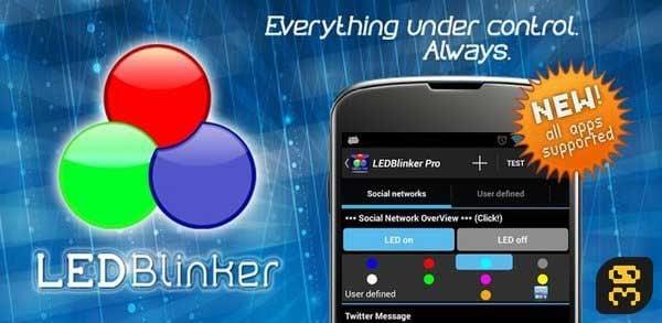 دانلود LED Blinker Notifications Pro v8.0.3 b418 - برنامه کنترل چراغ گوشی اندروید