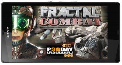 بازی هواپیما های جنگی برای آندروید Fractal Combat v1.1.0.0
