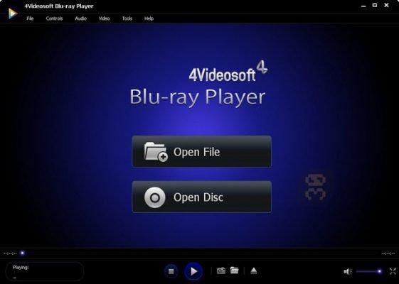 دانلود 4Videosoft Blu-ray Player 6.3.6 - پلیر دیسک بلوری