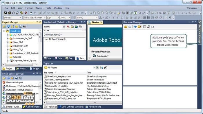 Adobe RoboHelp 2019.0.4 - Design Guide Programs