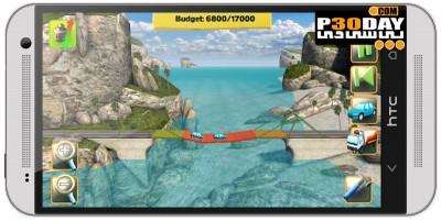 بازی پل سازی آندروید Bridge Constructor 1.5