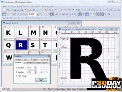 دانلود High-Logic FontCreator Pro 12.0.0.2563 - نرم افزار ویرایش و ساخت فونت