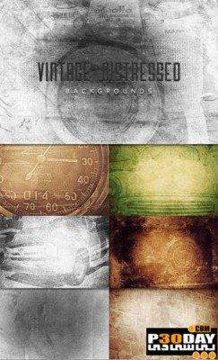Vintage Distressed