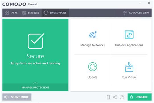 دانلود COMODO Firewall 12.0.0.6882 - نرم افزار فایروال حرفه ای و ایمن