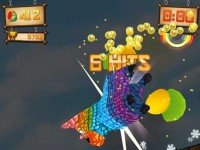 دانلود بازی فوق العاده جذاب Fruit Ninja vs Skittles v1.0 آندروید