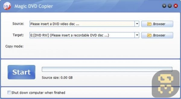 دانلود Magic DVD Copier 10.0.1 - تبدیل DVD9 به دی وی دی معمولی
