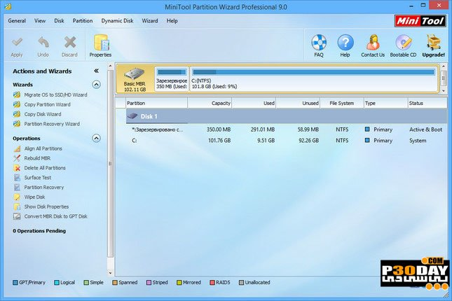 minitool partition wizard 10.2