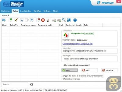 SpyShelter Premium 10.8.4 - شناسایی و حذف تروجان ها