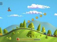 دانلود بازی زیبای آیفون Sunny Hillride 1.1