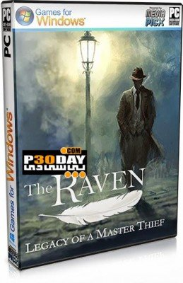 دانلود بازی The Raven Legacy of a Master Thief 2013 + کرک