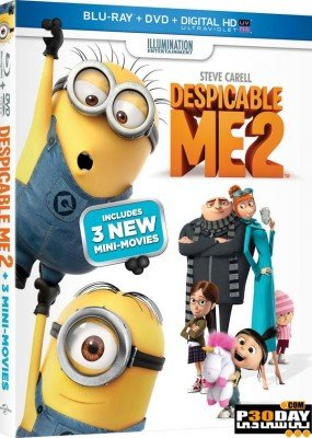 دانلود دوبله فارسی انیمیشن Despicable Me 2 با لینک مستقیم