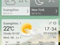 دانلود GO Weather Premium v6.163 - هواشناسی در اندروید