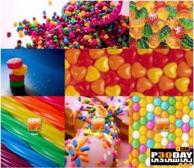 دانلود تم رنگارنگ و جذاب Delicious Candy Theme برای ویندوز 8
