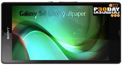 دانلود لایو والپیپر Galaxy S4 Live Wallpaper v1.8 برای آندروید