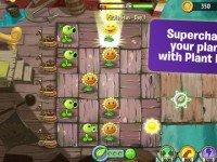 دانلود بازی فوق العاده زیبای Plants Vs. Zombies 2 v1.0 ویژه iOS