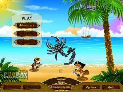 دانلود بازی کم حجم Skeleton Pirates 2013 با لینک مستقیم