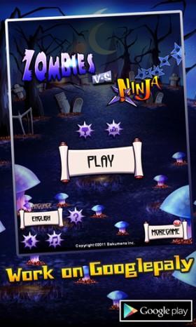 دانلود بازی اکشن و زیبای Zombies vs Ninja v1.8 آندروید