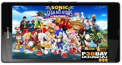 دانلود بازی سونیک برای اندروید Sonic & SEGA All Stars Racing™ v1.0.1