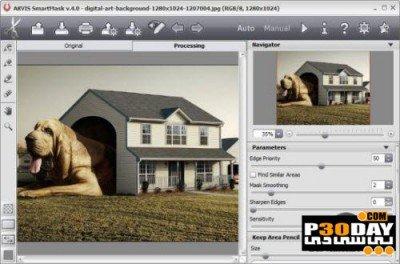 نرم افزار برش سریع اشیاء در تصاویر AKVIS SmartMask 4.5