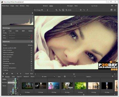 دانلود نرم افزار ویرایش تصاویر PictureCode Photo Ninja 1.1