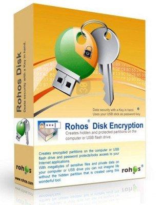 دانلود Rohos Disk Encryption 3.0 - رمزگذاری هارد دیسک