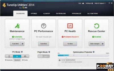 TuneUp Utilities 2014 screenshots
