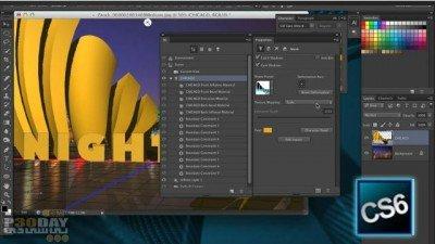 محصولات توتن دانلود آموزش ویدیویی طراحی سه بعدی در Photoshop CS6