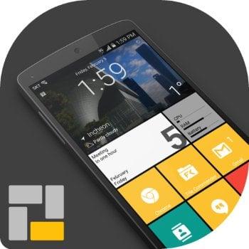 دانلود Square Home 3 Windows style v2.1.15 - لانچر برای آندروید