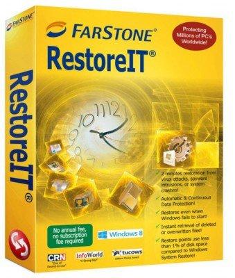 FarStone RestoreIT 10 Build 20151116 - ریکاوری اطلاعات سیستم