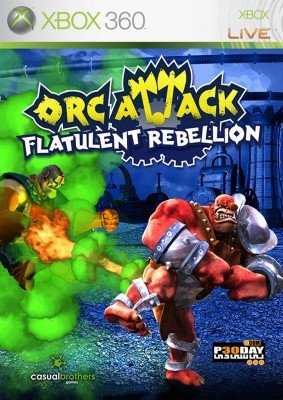 Orc Attack Flatulent Rebellion XBLA XBOX360 cover