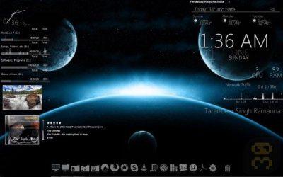 دانلود Rainmeter 4.3.1 Build 3321 - زیباسازی دسکتاپ ویندوز
